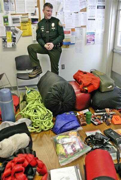 Brad Morse is one of 16 members of New Hampshire Fish and Game's search-and-rescue team.