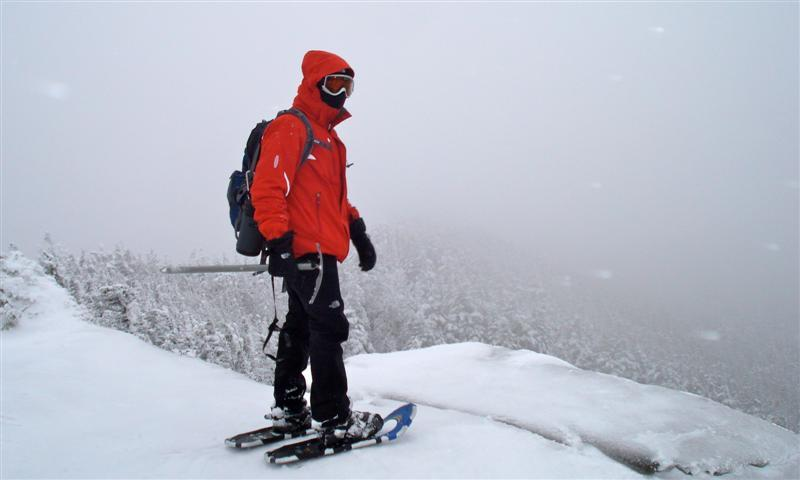 Evan Embrey during a winter trip two years ago in the Adirondacks.