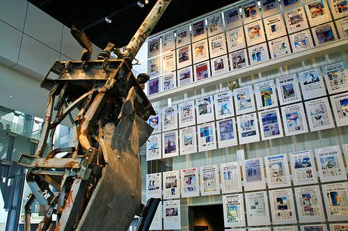 September 11 Exhibit at the Newseum