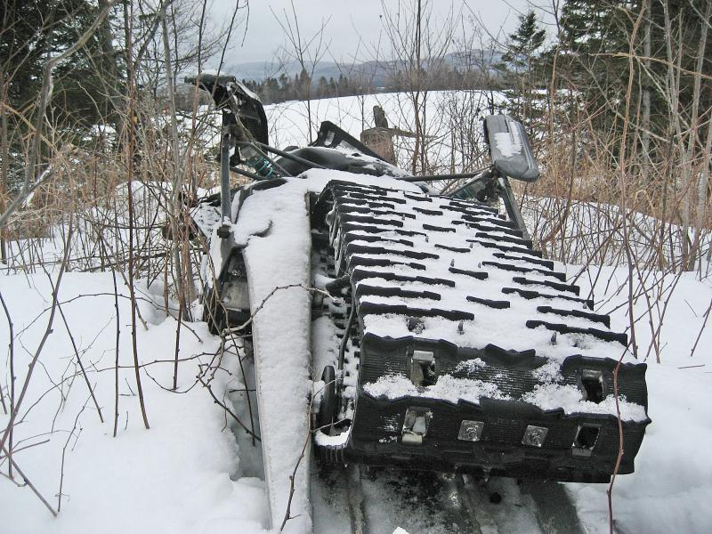 Jason Montambeault's snow machine and body were found Saturday about 9 a.m.