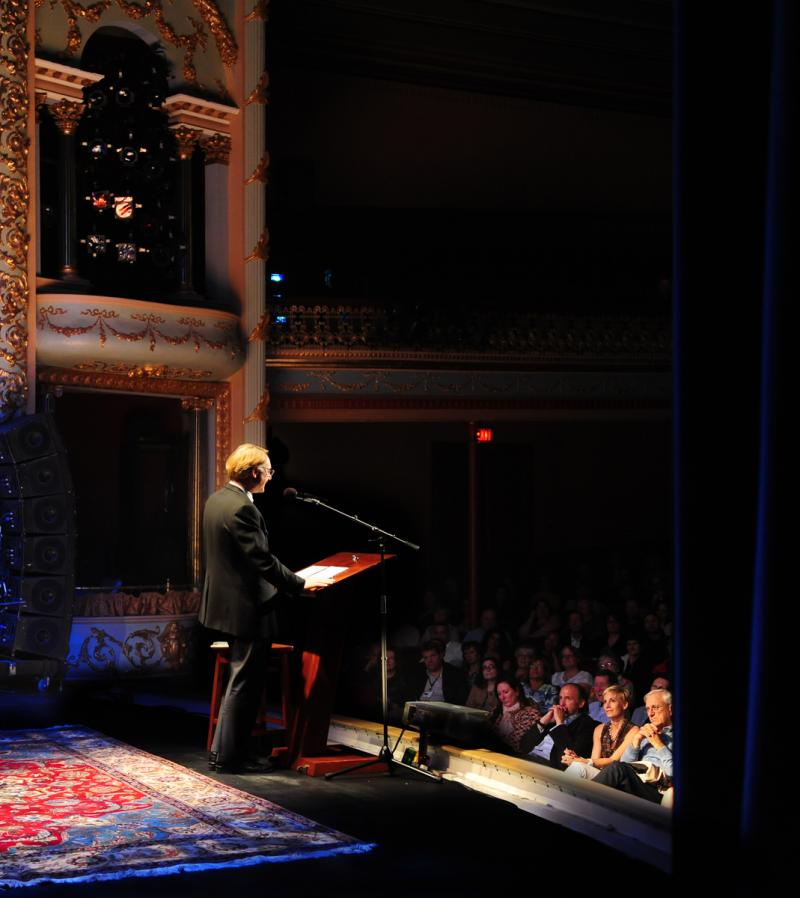 Dan Brown at the Music Hall in Portsmouth
