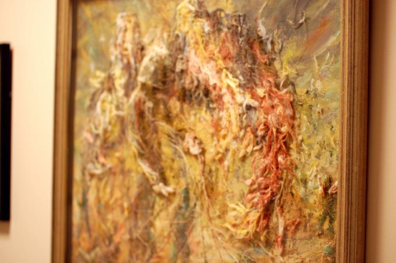 "Elaine Morrison's painting ""Doc."""