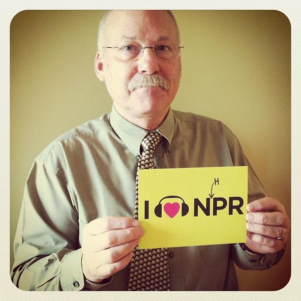 John Barrett, Volunteer for NHPR