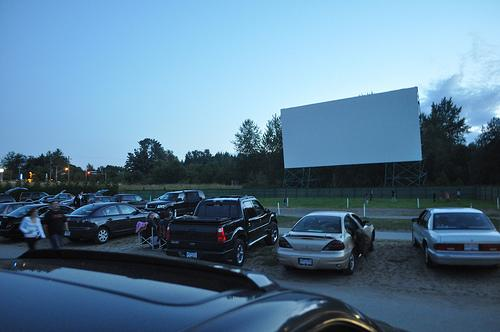 Drive-in movie theaters offer a nostalgic option for outdoor entertainment.