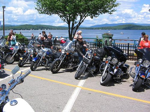 This year's Bike Week in Laconia included the Wall of Death.