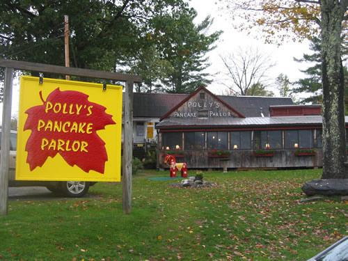 Polly's Pancake Parlor, Sugar Hill, NH.