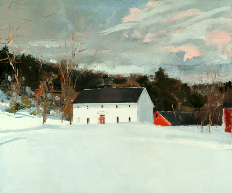 Eric Aho, Guilford White, 2008, Oil on linen, 30 inches x 36 inches.  Courtesy of the Artist and DC Moore Gallery, New York.