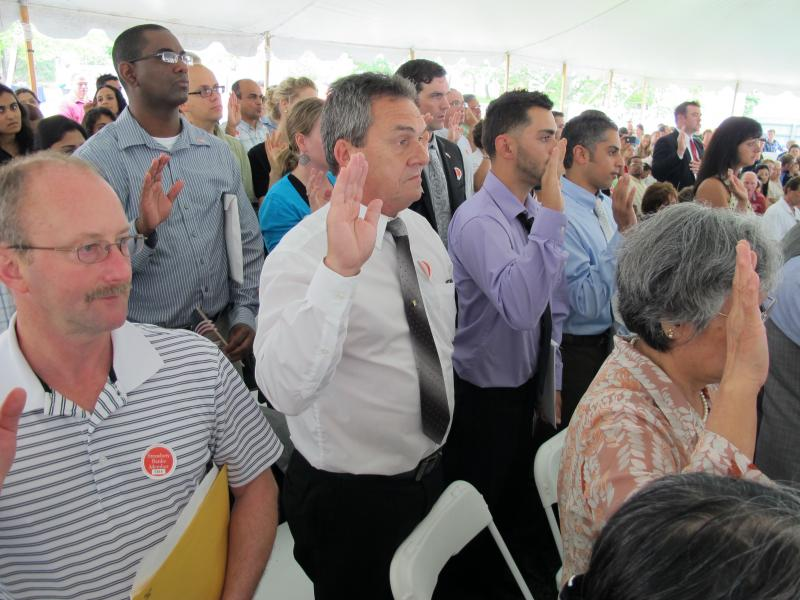 Naturalization Ceremony In Portsmouth