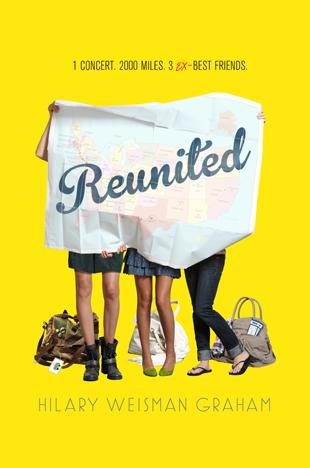 "The young adult novel ""Reunited"" puts three former friends on a road trip to see their once-favorite pop band in a reunion concert in Texas."