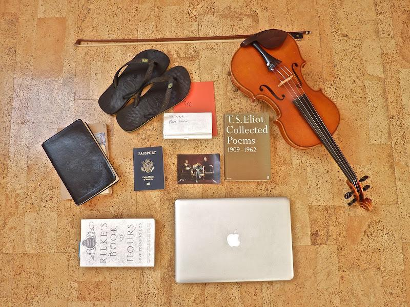 •Great Aunt's Violin (& Bow)