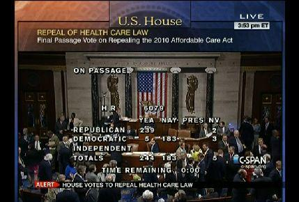 C-SPAN coverage of the roll call