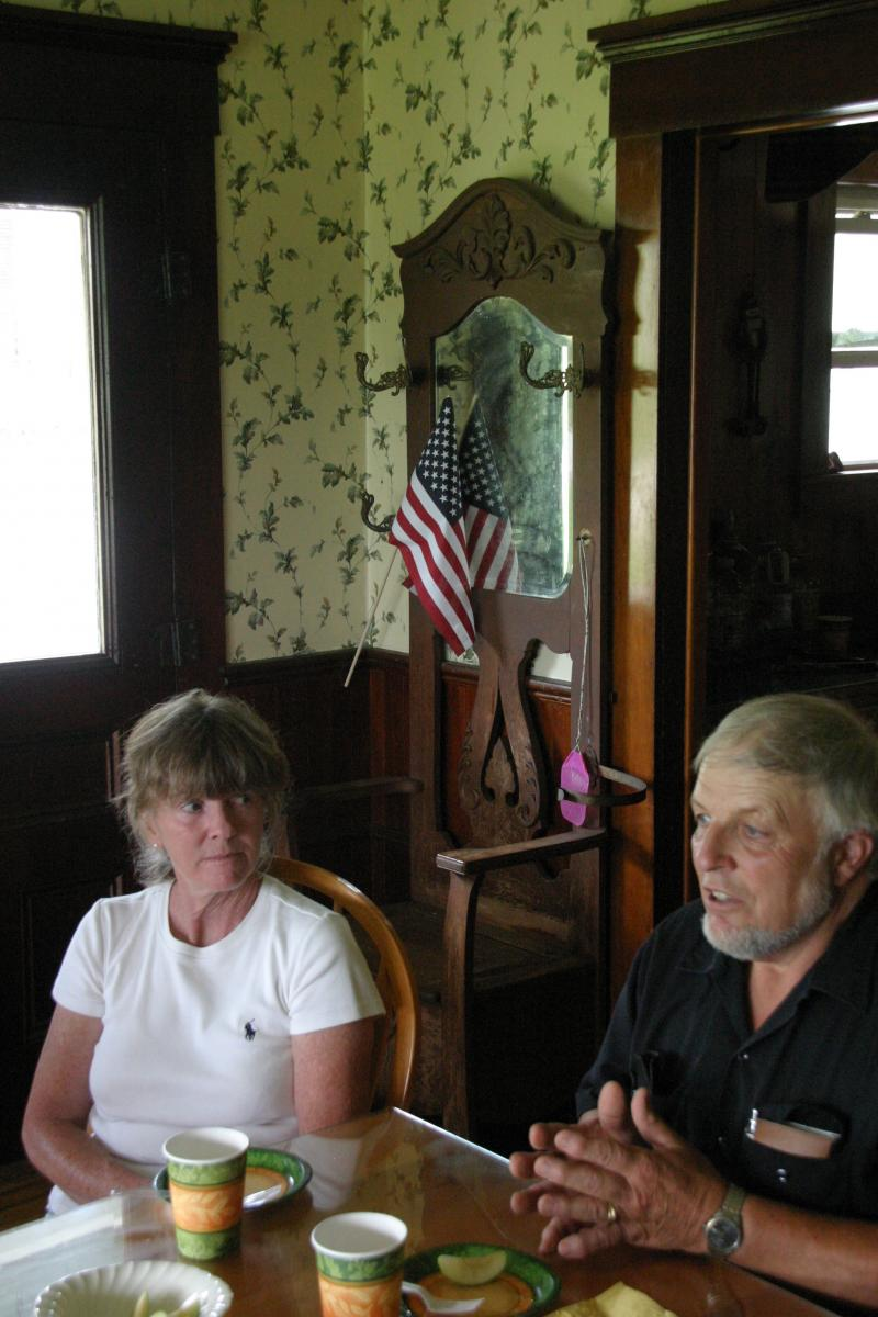 Cindy-Lou and John Amey: Worried about protecting their farm and family heritage.