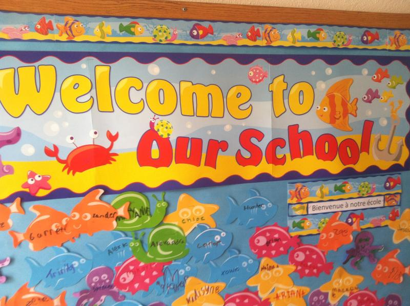 French instruction is part of the core curriculum for all the Maple Street School students