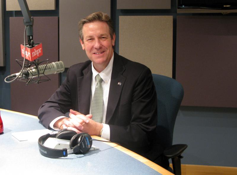Republican Ovide Lamontagne joins Laura in the studio.