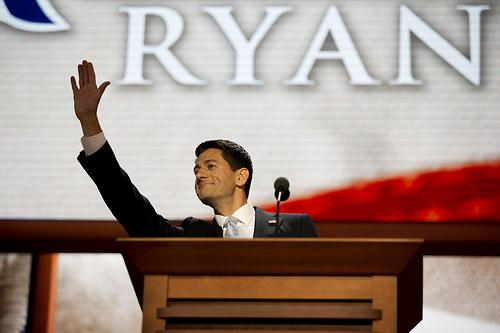 Vice Presidential nominee Paul Ryan.