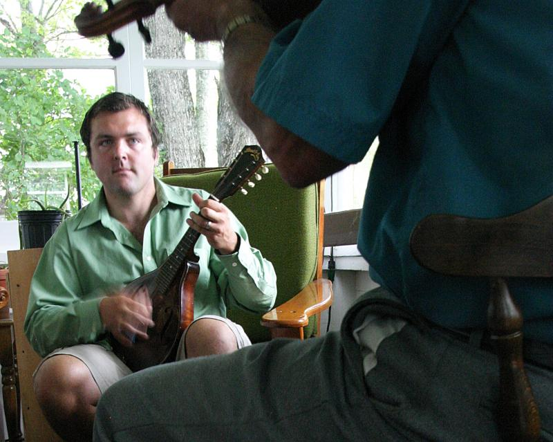 Patrick Ross is a fifth-generation fiddler.