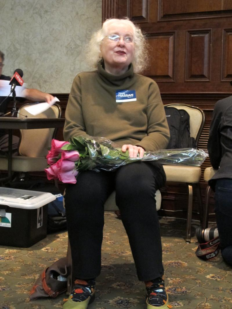 Nancy Rockwell, Hassan supporter