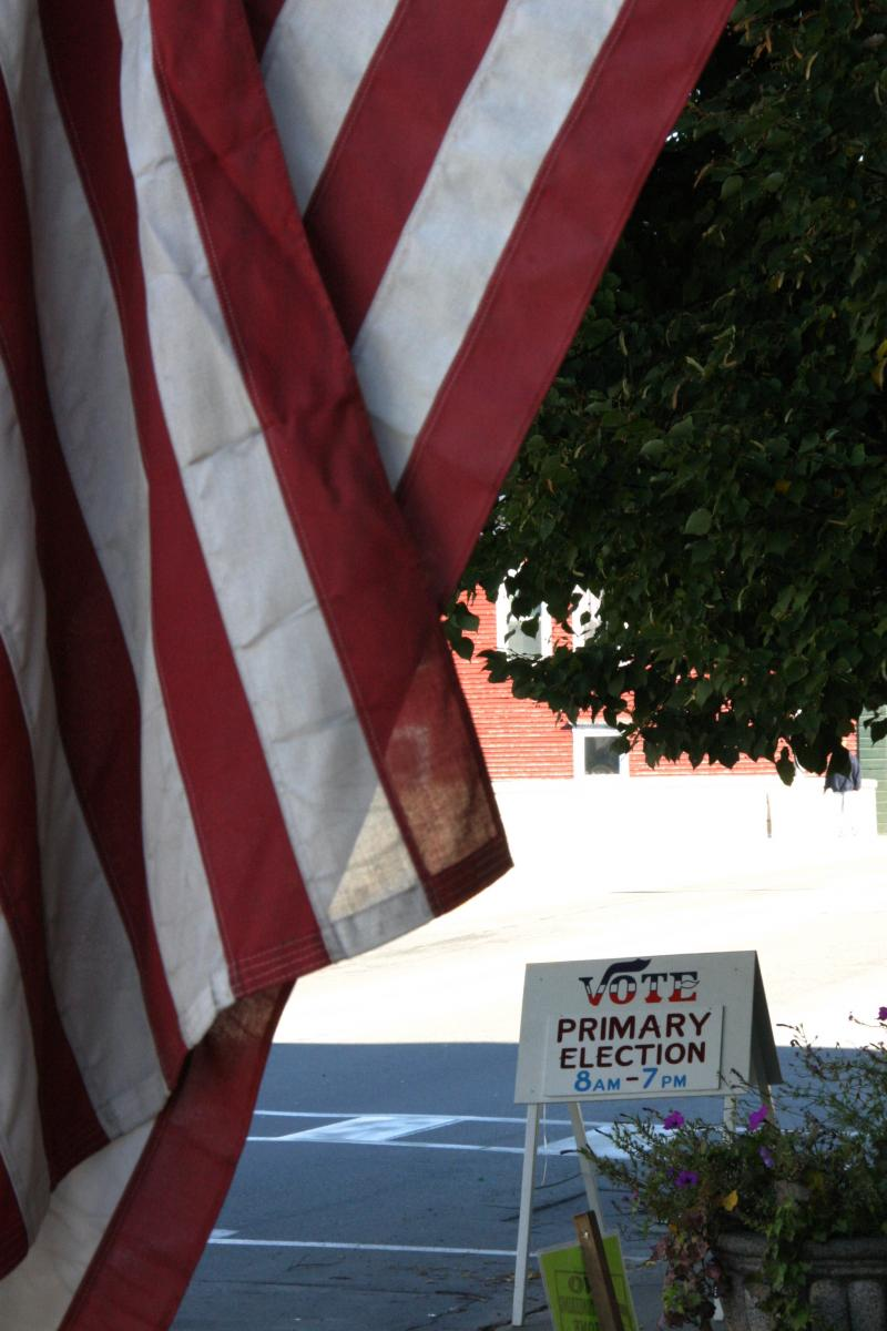 "By late morning Tuesday the turnout in Lancaster was reported as no more than ""steady."""