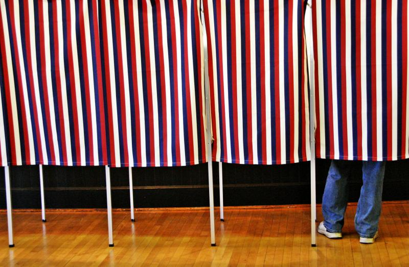 Voting Tuesday morning in Lancaster was described as steady but there were plenty of open voting booths.