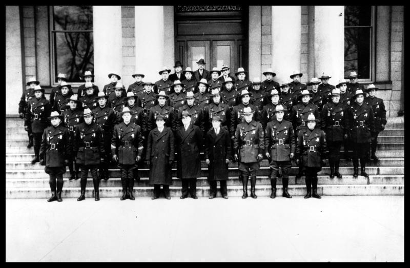 The first 44 troopers in 1937.
