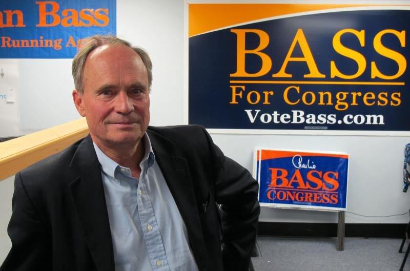 Congressman Charlie Bass is one of a handful of vulnerable incumbents this election cycle