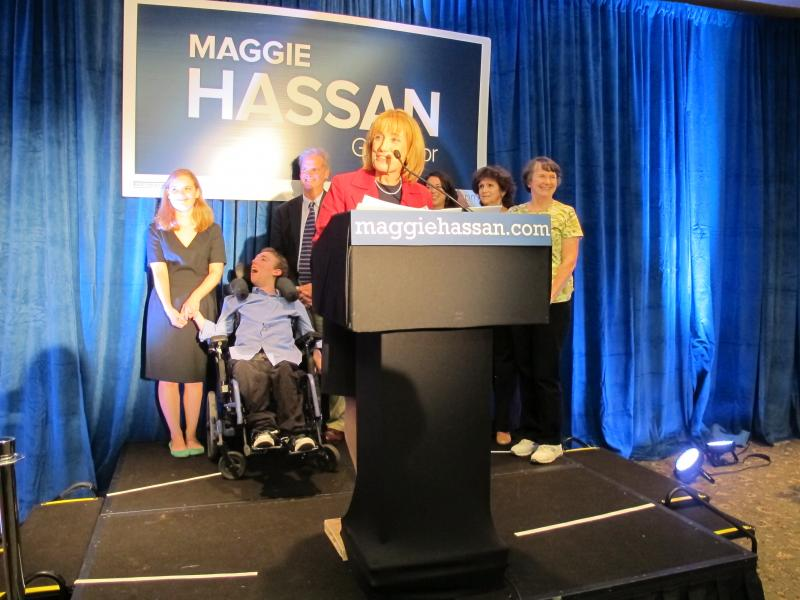 Maggie Hassan accepts her party's nomination for Governor