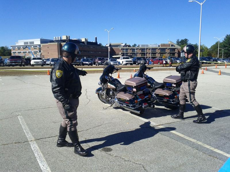 Current motorcycle troopers.