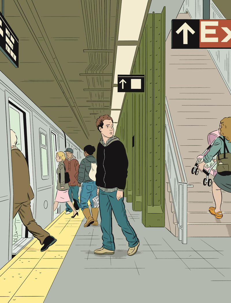 Adrian Tomine A Decade Of Drawings New Hampshire Public