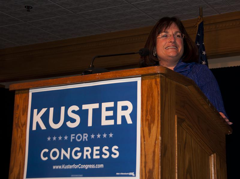 Kuster acceptance speech