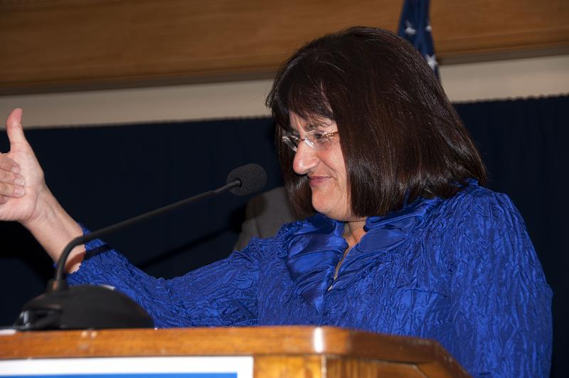 Ann McLane Kuster Gives Acceptance Speech For US Congress