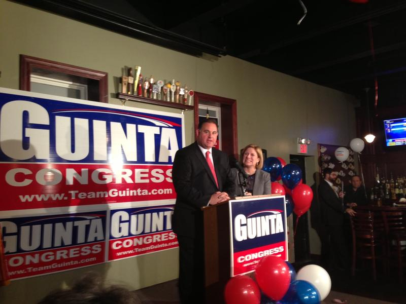 Rep. Frank Guinta's troubles with federal election officials have had an impact on his fundraising abilities.