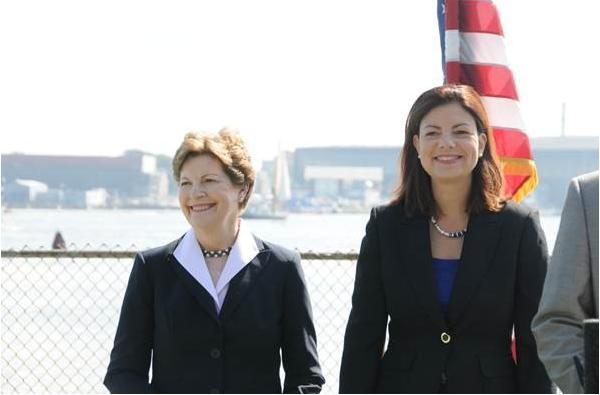 US Senators Jeanne Shaheen (D-NH) and Kelly Ayotte (R-NH) Appeared Together At An Event In Portsmouth In July