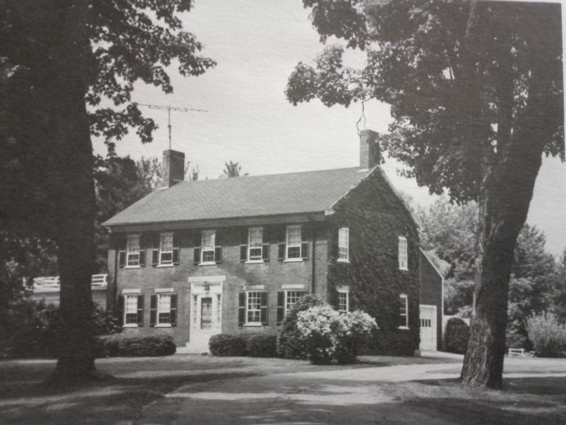 The Bridges House in 1977