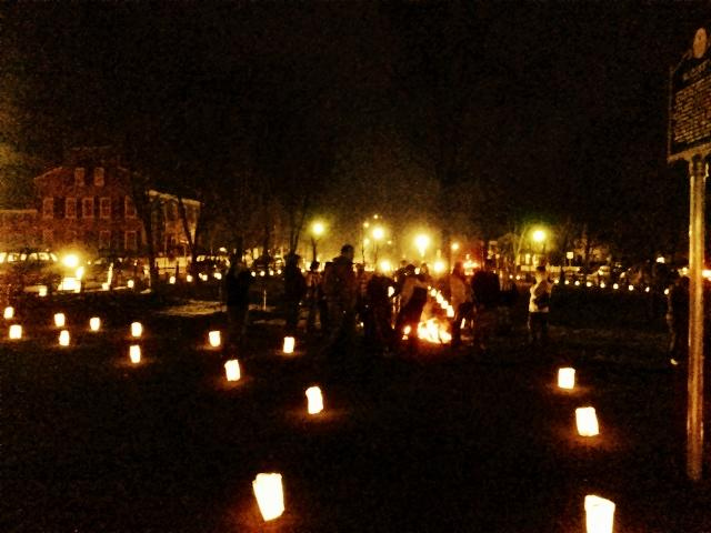 Luminaries, Wassail Weekend, Woodstock, VT