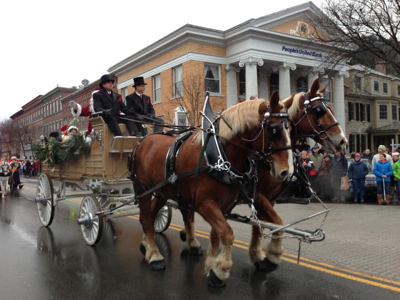 Wassail Parade, Main Street, Woodstock, VT