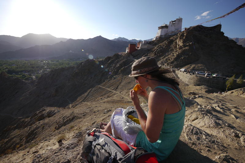 The expedition began in the city of Leh, in the Buddhist state of Ladakh.