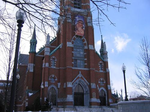 St. Marie's Catholic Church in Manchester