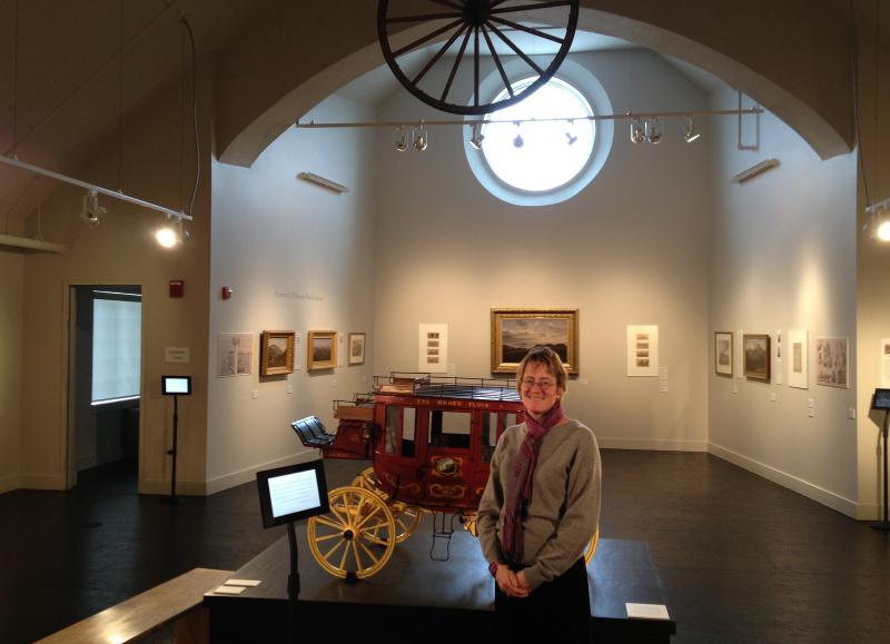 Museum Director Catherine Amidon