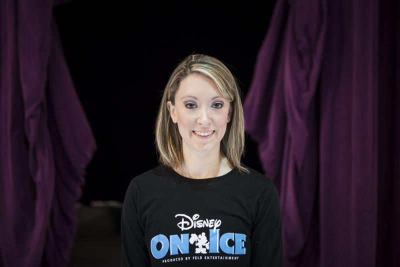 Disney on Ice's Kaitlyn DeRoy