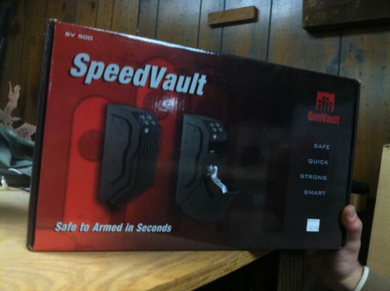 The SpeedVault is one way for guns to be stored safely at home.