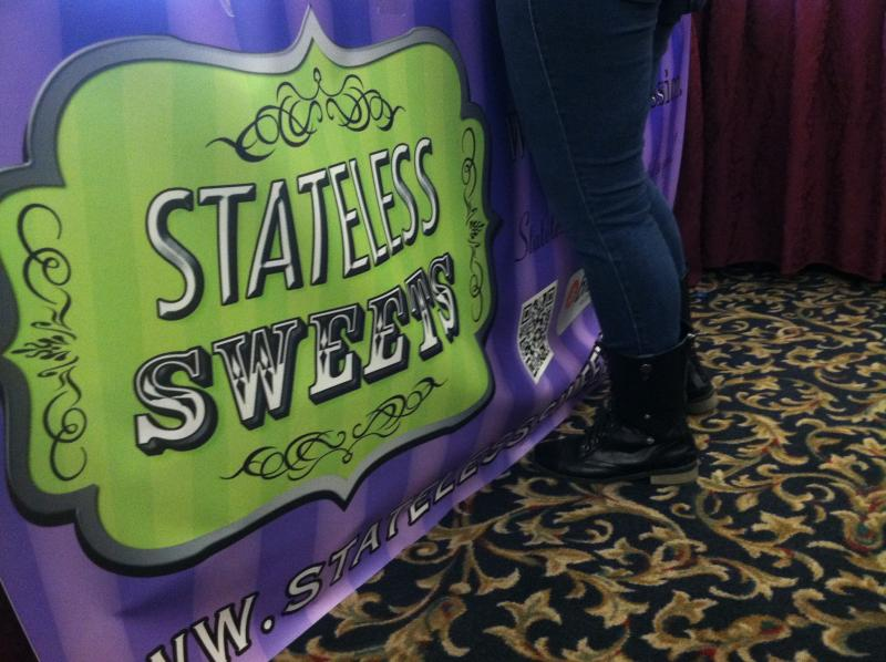 Stateless Sweets was one of several vendors set up at the Liberty Forum on Friday.