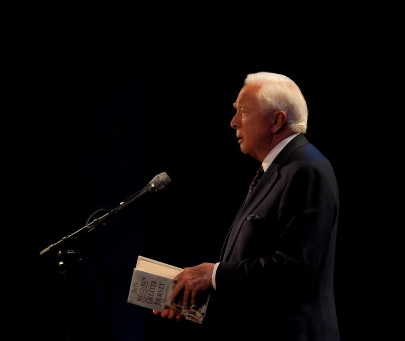 David McCullough reads from The Greater Journey
