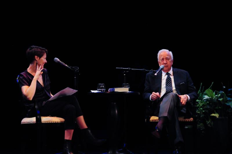 Virginia Prescott interviews David McCullough