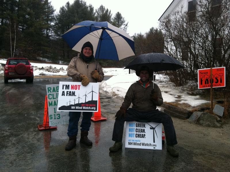 NH Wind Watch members were on site in Grafton and Alexandria, and Bridgewater, but not in Groton or Danbury.