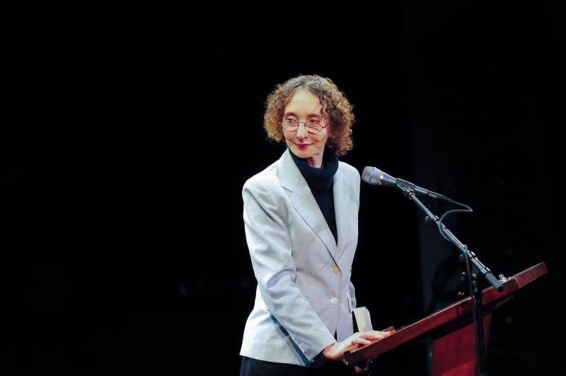 Joyce Carol Oates reads from A Widow's Story