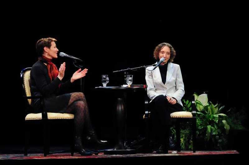 Host Virginia Prescott interview Joyce Carol Oates