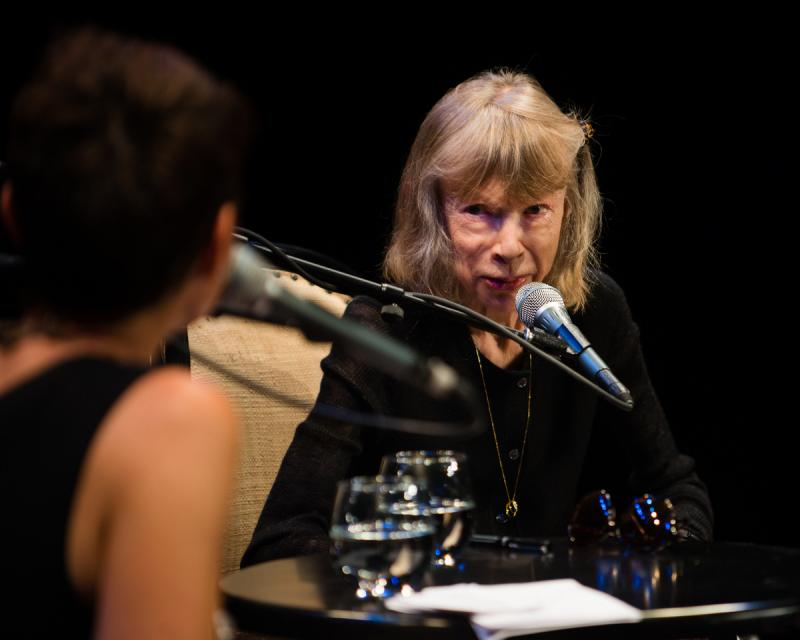 Host Virginia Prescott interviews Joan Didion