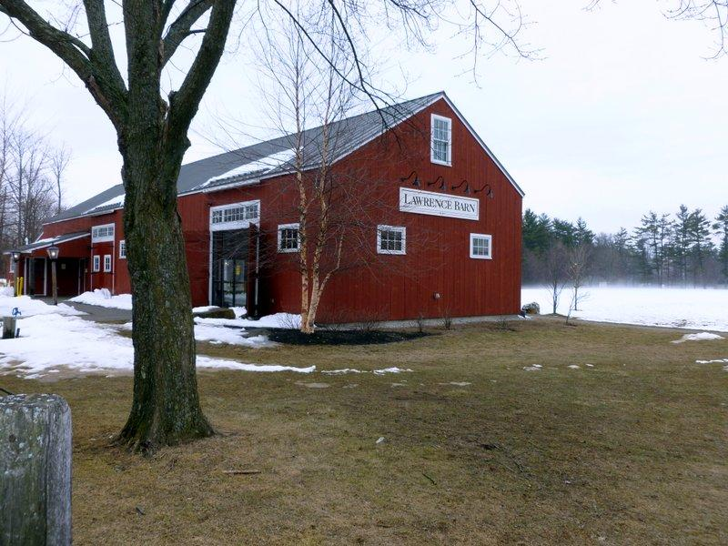 Lawrence Barn in Hollis