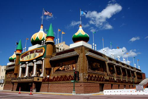 The Mitchell Corn Palace in South Dakota