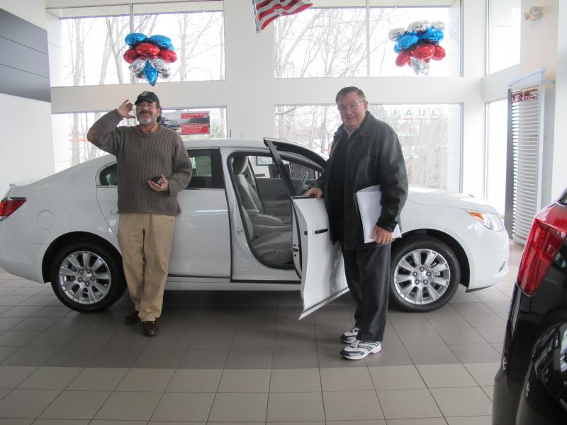Scott and Paul Holloway at Holloway Buick and GMC dealership in Portsmouth